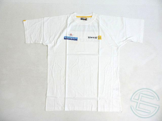 【送料無料】 ルノー 2002年 支給品 初期版 マイルドセブン タバコ版 コットン Tシャツ メンズ XL new 新品 (海外直輸入 F1 非売品グッズ)