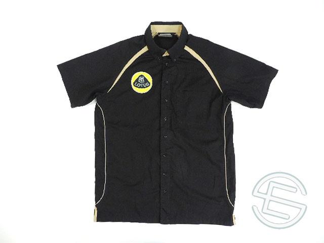 【送料無料】 ロータス・レーシング 2012年 支給品 ピットシャツ メンズ M 4/5 (海外直輸入 F1 非売品USEDグッズ ウェア)