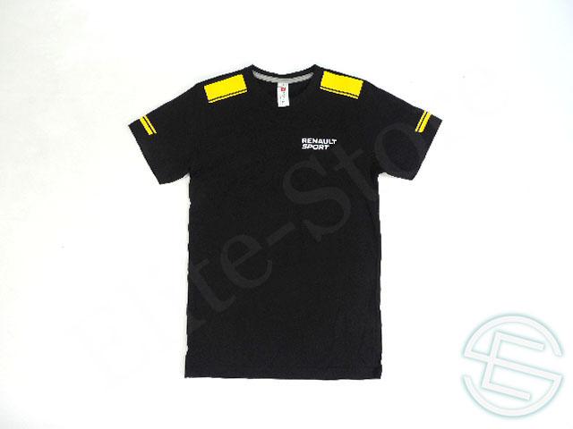 【送料無料】 ルノー・スポール 2016年 支給品 コットン製 半袖 Tシャツ メンズ S 5/5 (海外直輸入 F1 非売品USEDグッズ)