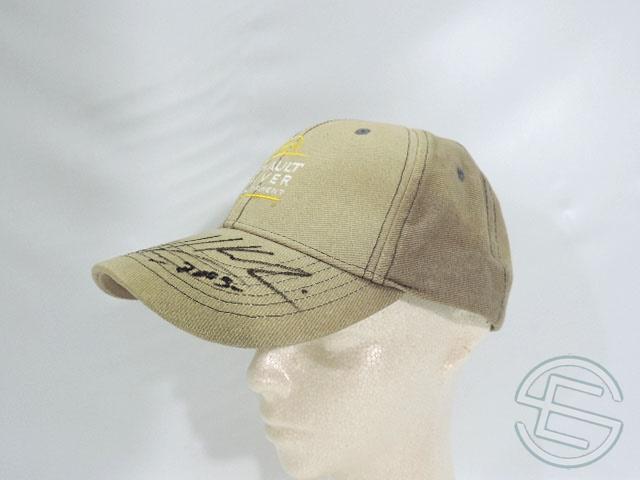 【送料無料】 ヘイキ・コバライネン 2005年 ルノー ドライバー育成プログラム 直筆サイン入り 支給品 キャップ 帽子 (海外直輸入 F1 現非売品USEDグッズ)