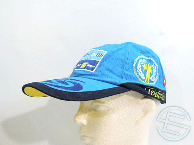 【送料無料】 ルノー 2006年 支給品 タバコ版 両タイトル獲得記念 キャップ 帽子 CAP 4/5 (海外直輸入 F1 非売品USEDグッズ)