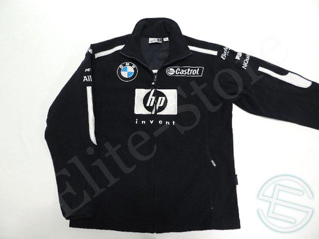 【送料無料】 BMW・ウィリアムズ 2004年 支給品 ゴア社 Windstopper ウィンドストッパー フリース ジャケット メンズ M 4/5 (海外直輸入 F1 非売品USEDグッズ)