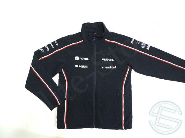 【送料無料】 ウィリアムズ 2013年 支給品 ドライバー用 ソフトシェル ジャージ ジャケット メンズ S 5/5 (海外直輸入 F1 非売品USEDグッズ)