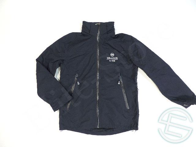 【送料無料】 ウィリアムズ 2012-13年 支給品 ファクトリー用 ライトジャケット レインコート ハードシェル メンズ S new (海外直輸入 F1 非売品グッズ アウトドアウェア)