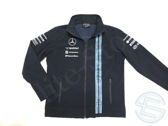 【送料無料】 マルティニ・ウィリアムズ 2014年 支給品 アブダビGP限定 ソフトシェル ジャージ ジャケット メンズ M 5/5 (海外直輸入 F1 非売品USEDグッズ)