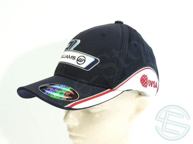 【送料無料】 パストール・マルドナード 2011年 ウィリアムズ 支給品 本人用 キャップ 帽子 new (海外直輸入 F1 非売品グッズ)