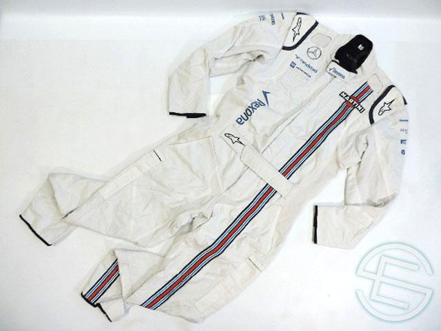 【送料無料】 マルティニ・ウィリアムズ 2015年 支給品 アルコール版 アルパインスターズ製 クルー用 ノーメックス素材 スーツ 50size 4/5 (海外直輸入 F1 非売品USEDグッズ)