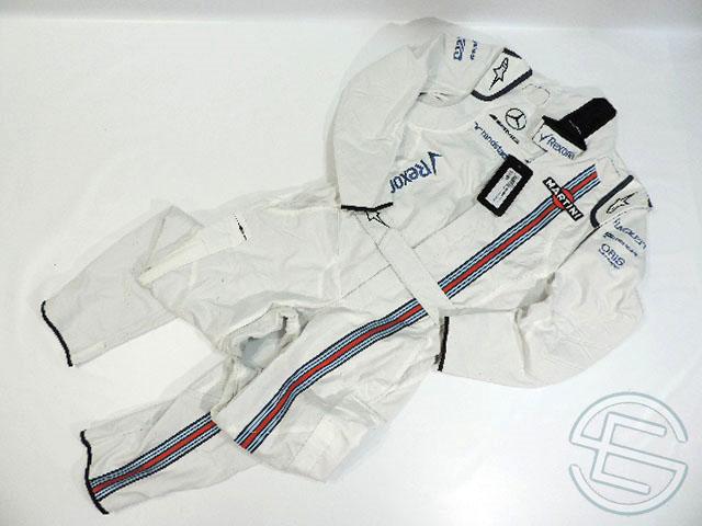 【送料無料】 マルティニ・ウィリアムズ 2017年 支給品 アルコール版 アルパインスターズ製 クルー用 ノーメックス素材 スーツ 50size new 新品 (海外直輸入 F1 非売品USEDグッズ)