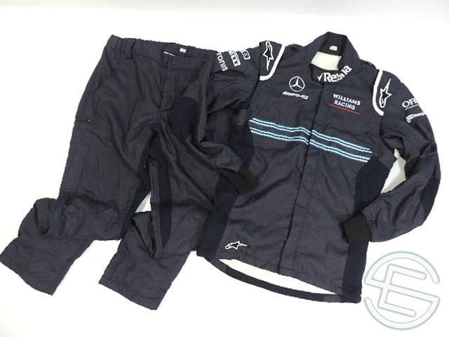 【送料無料】 マルティニ・ウィリアムズ 2018年 支給品 アルパインスターズ製 8867-2016 メカニック用 2ピースタイプ スーツ 52size 5/5 (海外直輸入 F1 非売品USEDグッズ)