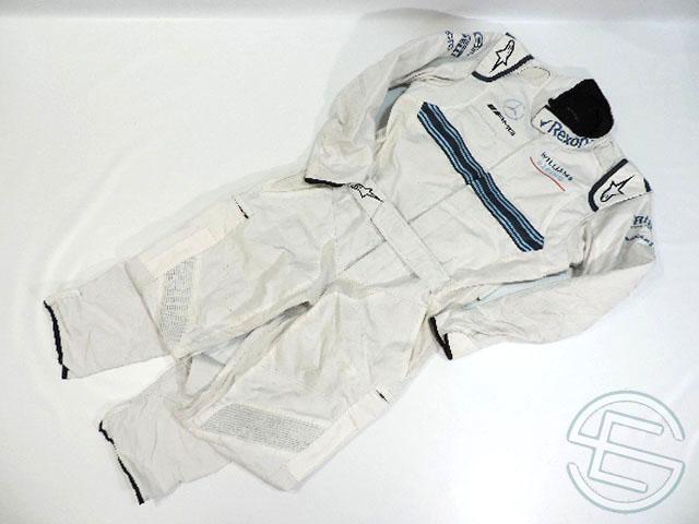 【送料無料】 マルティニ・ウィリアムズ 2018年 支給品 ノンアルコール版 アルパインスターズ製 クルー用 ノーメックス素材 スーツ 50size 3/5 (海外直輸入 F1 非売品USEDグッズ)
