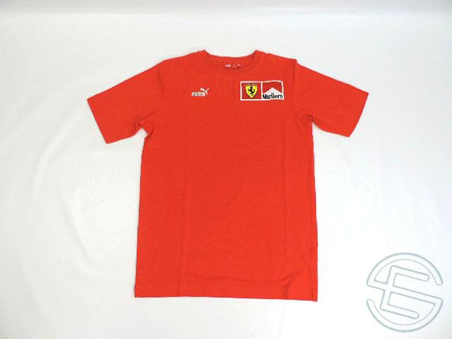 【送料無料】 フェラーリ 2005年 支給品 マルボロ版 セットアップ用 Tシャツ メンズ S 4/5 (海外直輸入 F1 非売品USEDグッズ)