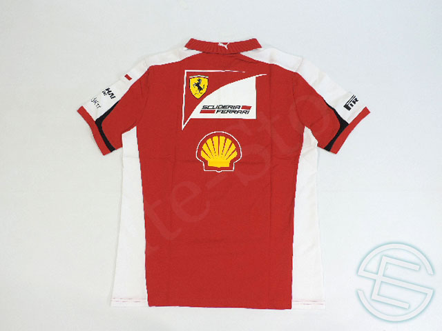 Ferrari 2015 supplies ZIP Polo Shirts new (overseas imported from F1 for sale toy)