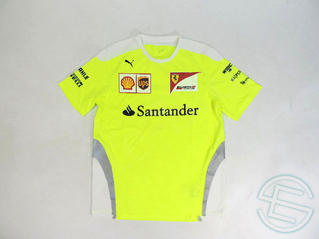 80e6db02887d Ferrari 2016 supplies Setup for reflector version drying T shirt mens L 5 5  (the overseas imported from F1 for sale USED toy next to clothing)