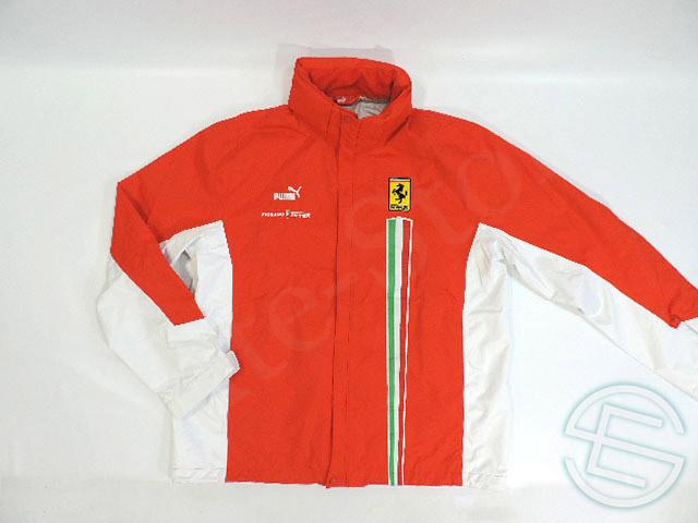 【送料無料】 フェラーリ 2007年 支給品 フィオラノサーキット ハードシェル レインジャケット レインコート メンズ XL 5/5 (海外直輸入 F1 非売品USEDグッズ)