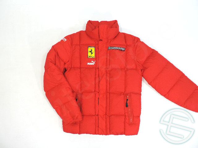 【送料無料】 フェラーリ・コルセ・クリエンティ 2009年 チャレンジ版 ダウンジャケット 中綿 メンズ XS 5/5 (海外直輸入 F1 非売品USEDグッズ)