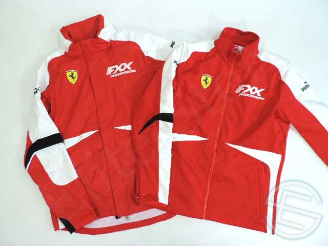 【送料無料】 フェラーリ・コルセ・クリエンティ 2013年 FXXプログラム版 支給品 インナーソフトシェル付き 2ピース ジャケット メンズ M new 新品 (海外直輸入 F1 非売品グッズ)