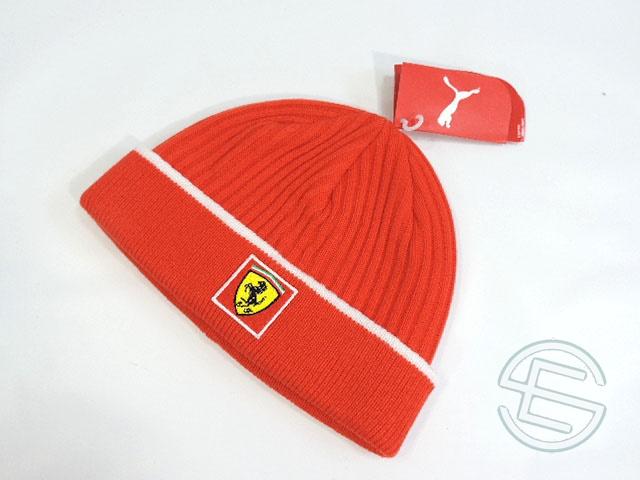 【送料無料】 フェラーリ 2006年 支給品 ウィンターキャップ ワッチキャップ new 新品 (海外直輸入 F1 非売品グッズ ベンツ)