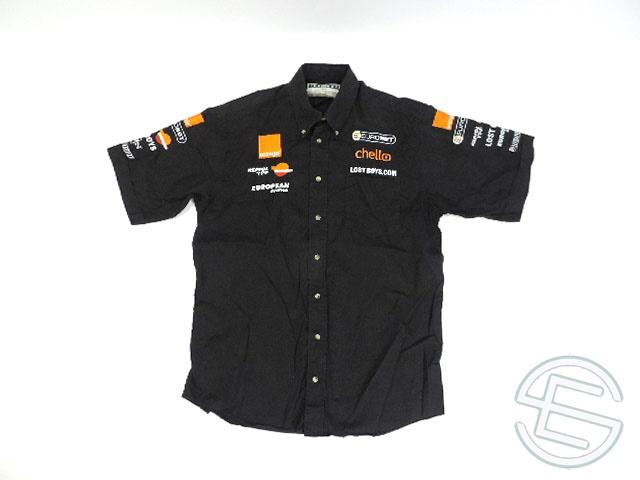 【送料無料】 アロウズ 2000年 2シーターエクスペリエンス 支給品 ピットシャツ L 3/5 (海外直輸入 F1 非売品USEDグッズ)