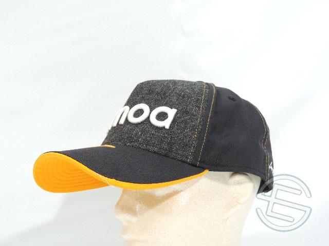 【即納可】 フェルナンド・アロンソ KIMOA キモア x NewEra ニューエラ 2018年 マクラーレン BB版 キャップ 帽子 メンズ new 新品 (海外直輸入 F1 グッズ)