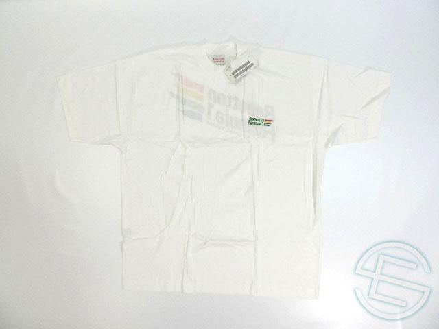 【送料無料】 ベネトン・フォーミュラ 80年代 支給品 ドライバー用 Tシャツ メンズ L new 新品 (海外直輸入 F1 非売品グッズ)