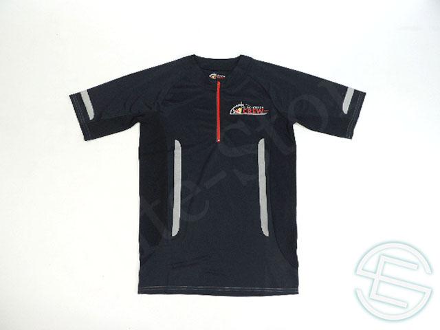 【送料無料】 レッドブル レーシング 2014-15年 支給品 速乾性 エナジーステーション用 半袖 ZIPシャツ メンズ S 5/5 (海外直輸入 F1 非売品USEDグッズ ランニングウェア)