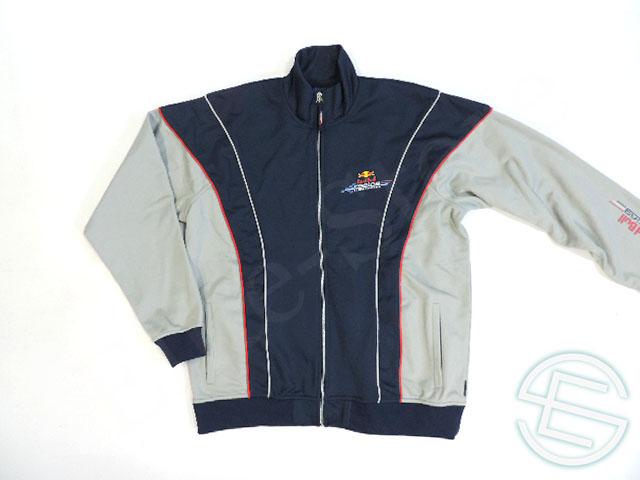 【送料無料】 レッドブル レーシング 2006年 支給品 ポリエステル素材 トラックジャケット ジャージ メンズ XL 5/5 (海外直輸入 F1 非売品USEDグッズ 185ml 250ml)