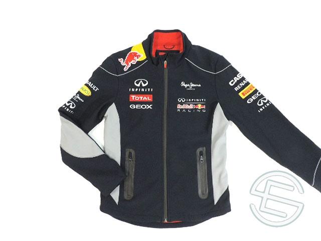 【送料無料】レッドブル 2013年 支給品 後期版 ソフトシェル ジャケット メンズ S 5/5 (海外直輸入 F1 非売品USEDグッズ)