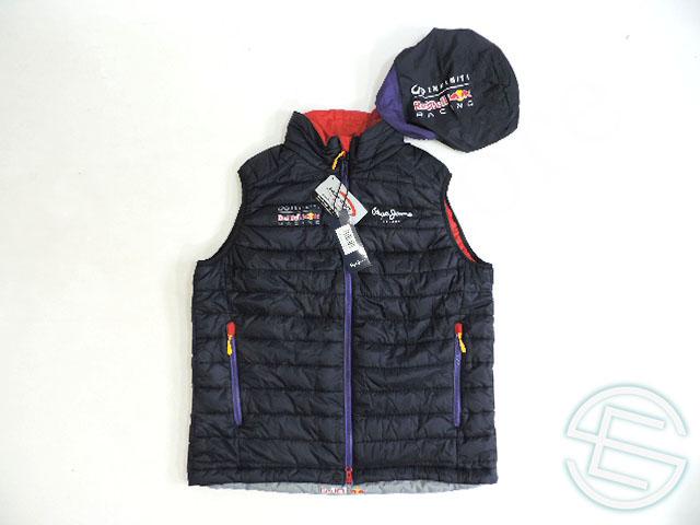 【送料無料】 レッドブル 2014年 支給品 プリマロフト 中綿入り ベスト メンズ XL new (海外直輸入 F1 非売品グッズ)
