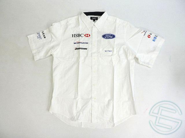 【送料無料】 スチュワート・フォード 1999年 支給品 ピットシャツ メンズ XL 4/5 (海外直輸入 F1 非売品USEDグッズ)