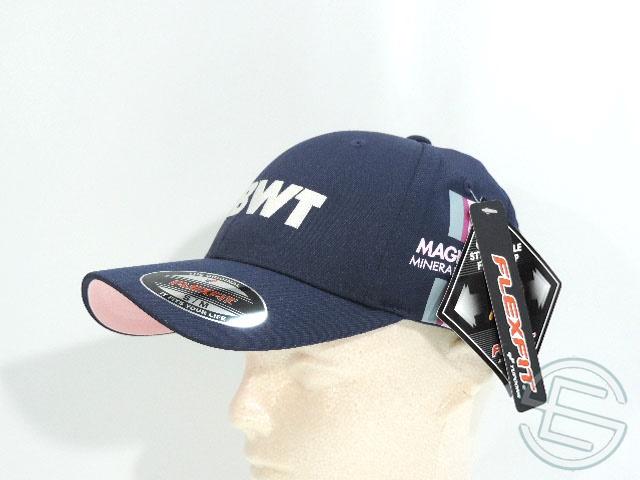 【送料無料】 エステバン・オコン 2017年 フォースインディア 支給品 本人品 キャップ 帽子 CAP 紺 (海外直輸入 F1 非売品グッズ ベンツ)