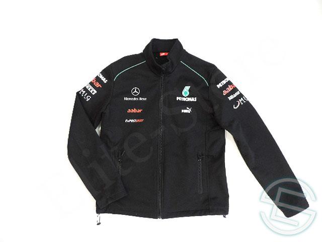 【送料無料】 メルセデス・AMG 2012年 支給品 2nd版 ソフトシェル ジャケット ジャージ メンズ L 5/5 (海外直輸入 F1 非売品USEDグッズ)