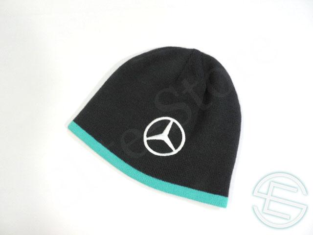 【送料無料】 メルセデス AMG 2014年 支給品 ウィンターキャップ 5/5 (海外直輸入 F1 非売品USEDグッズ)