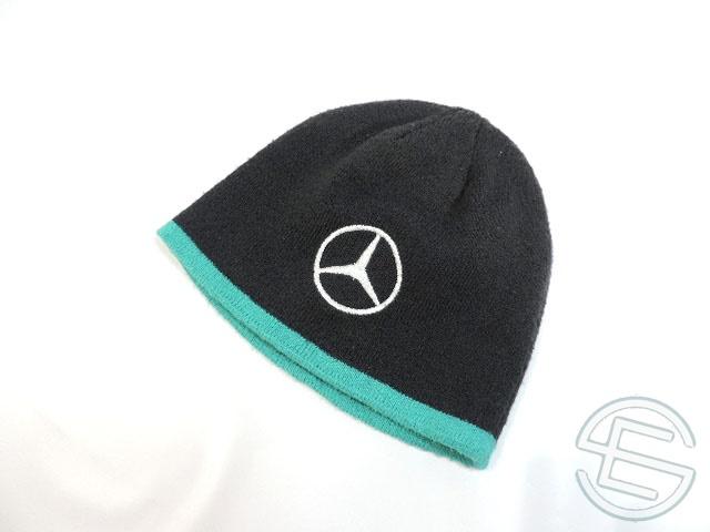 【送料無料】 メルセデス AMG 2014年 支給品 ウィンターキャップ 3/5 (海外直輸入 F1 非売品USEDグッズ)