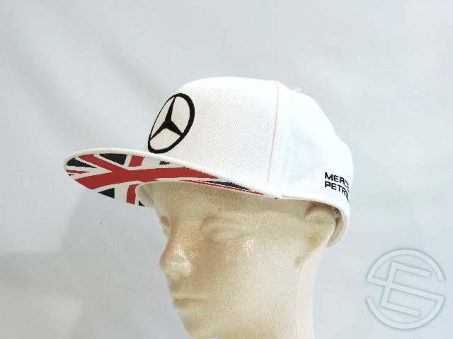 【送料無料】 ルイス・ハミルトン 2014年 メルセデス AMG 支給品 本人用 イギリスGP版 キャップ CAP (海外直輸入 F1 非売品グッズ ベンツ)