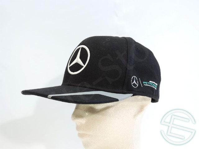 【送料無料】 ルイス・ハミルトン 2016年 メルセデス AMG 支給品 実使用品 Hip-Hop キャップ 帽子 CAP (海外直輸入 F1 非売品USEDグッズ ベンツ)