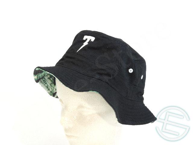 【送料無料】 ハミルトンも着用 !! 新興ストリートブランド サンハット(黒x白) 帽子 new 新品 (海外直輸入 F1 非売品グッズ メルセデス AMG)
