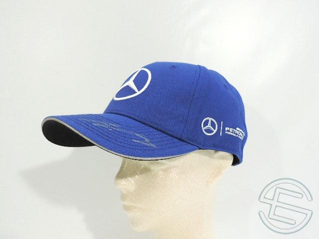 【送料無料】 バルテリ・ボッタス 2017年 メルセデス AMG 2017年 直筆サイン入り 公式 キャップ 帽子 new 新品 (海外直輸入 F1 現非売品グッズ メモラビリア)