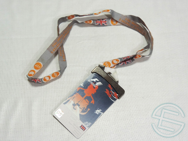 【即納可】 F1 2005年 イギリスGP 非売品 VIP パス (海外直輸入 F1 非売品USEDグッズ)