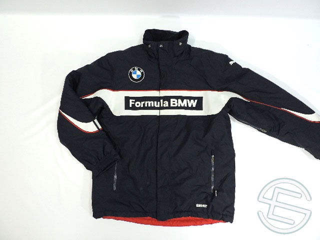 【送料無料】 フォーミュラ・BMW 2007年 支給品 中綿入り GORE-TEX ゴアテックス ジャケット メンズ L 5/5 (海外直輸入 F1 非売品USEDグッズ)