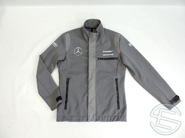 【送料無料】 DTM メルセデス・AMG 2013年 支給品 ヒューゴボス製 ソフトシェル ジャケット メンズ L 4/5 (海外直輸入 DTM 非売品グッズ ベンツ ゴルフウェア)