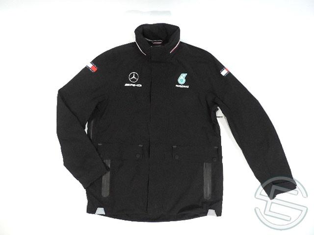 【送料無料】 DTM メルセデス・AMG 2018年 支給品 トミーヒルフィガー製 レインジャケット ハードシェル メンズ M 5/5 (海外直輸入 F1 非売品グッズ)