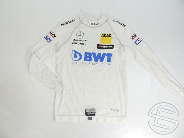 【送料無料】 ルーカス・アウアー 2017年 DTM メルセデス AMG 支給品 実使用 ノーメックス シャツ (海外直輸入 F1 非売品USEDグッズ)