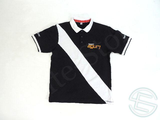 【送料無料】 チーム・アグリ 2015年 フォーミュラE 支給品 テスト期間用 ポロシャツ メンズ M 4/5 (海外直輸入 F1 非売品USEDグッズ ゴルフウェア)