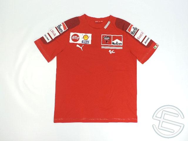<title>マルボロロゴの貴重なウェア 送料無料 ドゥカティ 2009年 支給品 マルボロ版 Tシャツ メンズ L 4 お買い得 5 海外直輸入 モトGP 非売品USEDグッズ</title>