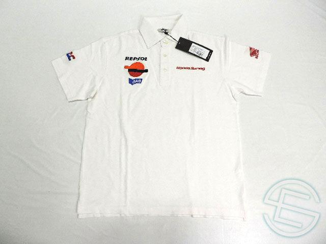 【送料無料】 レプソル・ホンダ 公式 ガスジーンズ製 刺繍ロゴ ポロシャツ メンズ S new (海外直輸入 F1 グッズ)