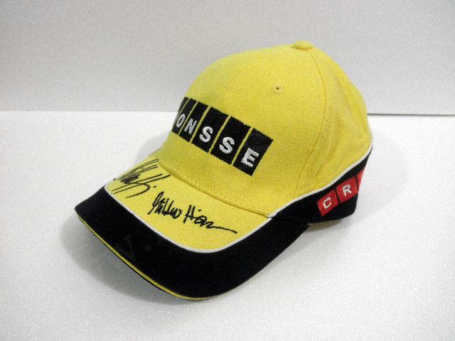 【送料無料】 ミッコ・ヒルボネン 2007年 WRC BP・フォード 支給品 直筆サイン入り 本人用 キャップ 帽子 new (海外直輸入 F1 非売品グッズ)