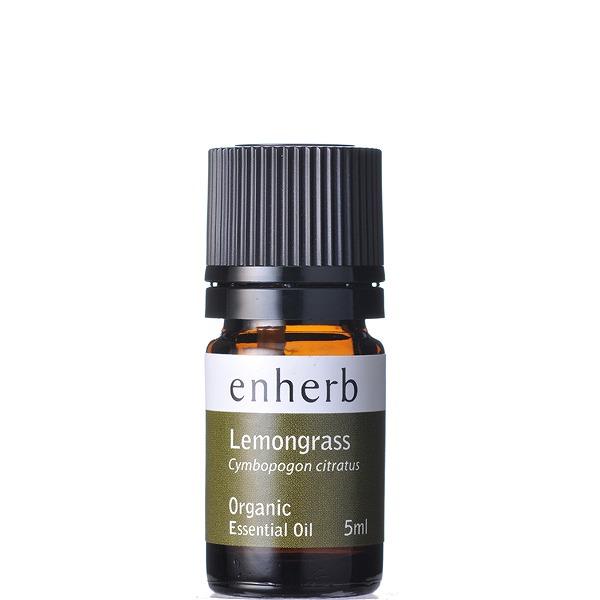 ファッション通販 通販 enherb公式通販 レモングラス エッセンシャルオイル5mL