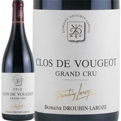 ワイン 赤ワイン 2012年 クロ・ド・ヴージョ グラン・クリュ / ドルーアン・ラローズ フランス ブルゴーニュ / 750ml