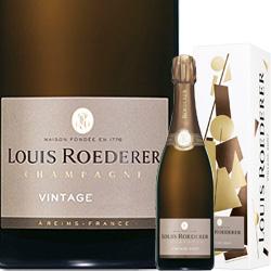 ワイン スパークリング シャンパン 白 発泡 2012年ルイ・ロデレール・ブリュット・ヴィンテージ [ボックス付] / ルイ・ロデレール フランス シャンパーニュ / 750ml