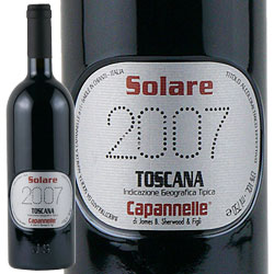 ワイン 赤ワイン 2007年 ソラーレ / カパンネッレ イタリア トスカーナ / 750ml
